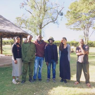 ケニアでアフリカ東部サバンナ環境保護 岡田梨里